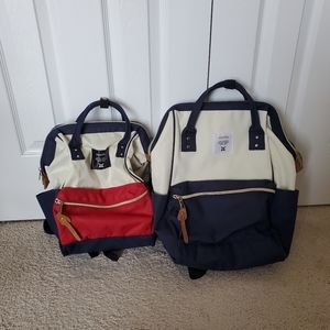 Two Anello  backpacks